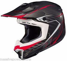 HJC CL-X7 Motocross Helmet Blaze Red XXXXL 4XL 4X ATV Off Road Moto