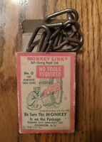 Vintage Monkey Link Self Closing Repair Link for Chains No.0 Original Box 1948