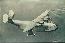 """MARS vintage WWII-era U.S. Army/Navy plane 5"""" x 8"""" photo card"""