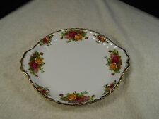 "Royal Albert Old Country Roses Bone China 9""  Serving Plate– England"
