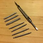 20mm /10 PC Spring Bars Pins for Watch Band Straps & spring bar remover tool