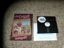 The Dallas Quest Commodore 64 C64 Game with instruction sheet - Tested