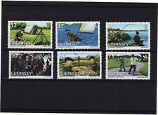 GUERNSEY - 2007 EUROPA CENTENARY OF SCOUTING SET 6 UNMOUNTED MINT