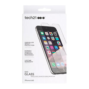 Tech21 Evo Advanced Tempered Glass Screen Protector for iPhone 8/7/6s/6