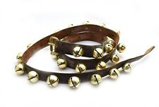 "82"" Leather Strap 30 Bells Horse Sleigh Bells"