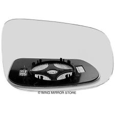 Right side for Volvo V50 2009-2012 heated wing door mirror glass