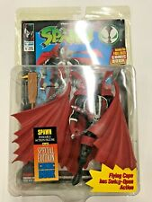 Todd McFarlane Spawn Action Figure Flying Cape Special Edition and Comic Book