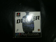 DRIVER PLAYSTATION GAME,ORIGINAL,WITH COVER AND INSERT,PAL,for sony ps platforms