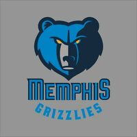 Memphis Grizzlies NBA Team Logo Vinyl Decal Sticker Car Window Wall Cornhole