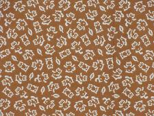 Tenugui Cloth Japanese Fabric Cotton Towel Gauze 'Brown Tanuki Raccoon Dog'