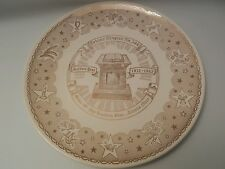 Order of the eastern star toledo ohio Golden year commemorative plate gold