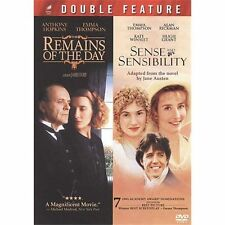 REMAINS OF THE DAY and SENSE AND SENSIBILITY - Emma Thompson Double Feature DVD