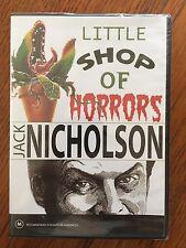 Little Shop Of Horrors DVD Region 4 New & Sealed Original Jack Nicholson