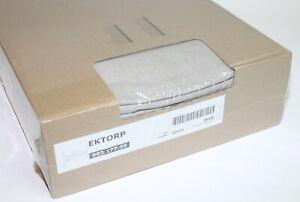 Ikea Ektorp Loveseat Chaise Sofa 3 Nordvalla Beige Slipcover Cover 903.177.35
