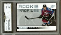 GMA 9 Mint NATHAN MacKINNON 2013/14 UD Upper Deck OVERTIME Rookie Card AVs!