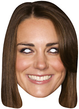 Adults Duchess Kate Middleton Royal Wedding Fancy Dress Costume Outfit Mask