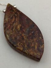 PIETERSITE PENDANT 70 CT. Free form 925 Silver W 925 Silver Chain Not Enhanced