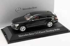 Mercedes-Benz CLS-Klasse Shooting Brake (X218) obsidian schwarz 1:43 Norev