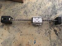 Heavy duty Ballscrew Nema 23 stepper motor mounting plate CNC Lathe router diy