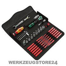 Wera 35-tlg. Kraftform Kompakt W1 Wartung Ratschenschlüssel VDE 05135926001