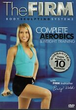 The Firm Body Sculpting System Complete Aerobics Weight Training Exercise DVD
