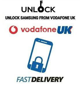 Vodafone UK UNLOCK CODE for Samsung A20e A21s A50 A70 A90 A51 A71 A41 VODA UK