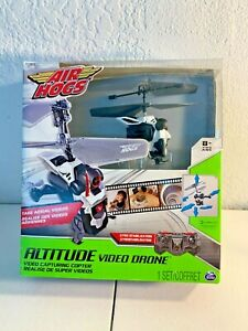 Air Hogs Altitude Video Drone Kit (Black/White) - NIB