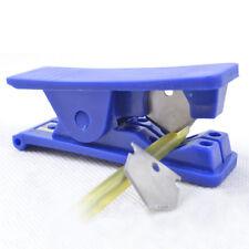 Rubber Silicone PVC Nylon Tube Plastic Pipe Hose Cutter Cut Up Blades Scissors