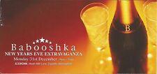 (CLUB FLYER 2001) BABOOSHKA @ BIRMINGHAM.CODE. ALLISTER WHITEHEAD