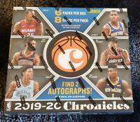 2019-20 Panini Chronicles NBA Basketball factory sealed Hobby Box Ja? Zion? RC