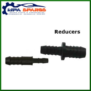 REDUCER HOSE MENDERS: JOINER TUBING FITTINGS AIR FUEL WATER CONNECTOR