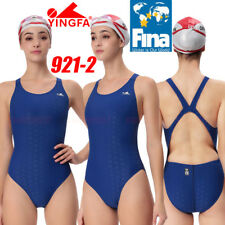 NWT YINGFA 921-2 COMPETITION SHARKSKIN SWIMSUIT XL US MISS 8 Sz32 FINA APPROVED!