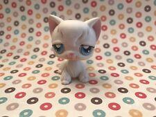 Littlest Pet Shop White Angora Cat