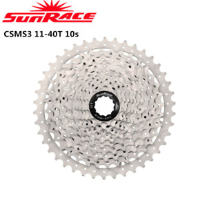 SunRace CSMS3 11-40T 10 Speed Wide Ratio Bike Bicycle Mtb Cassettes
