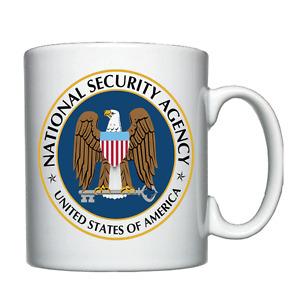 NSA - National Security Agency - Personalised Mug / Cup