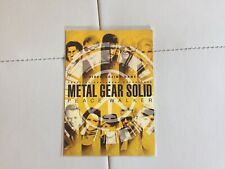 Postcard Metal Gear Solid Signed Hideo Kojima Yoji Shinkawa Rare