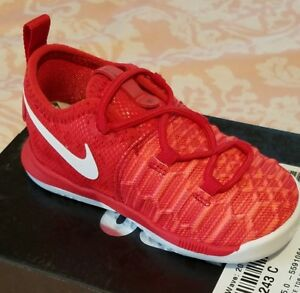 New Nike KD9 (TD)Shoe Size 5C Toddler Boys Red