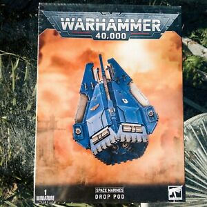 Warhammer 40k Space Marine Drop Pod