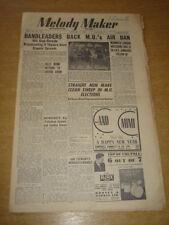 MELODY MAKER 1948 JANUARY 3 JAZZ JAMBOREE SKYROCKETS BILLY MUNN +