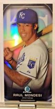 2015 BOWMAN CHROME PROSPECT PROFILES MINI RAUL MONDESI ROYALS     WM4