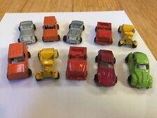 Car set of 10 diecast  car models marked Made in Hong Kong