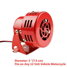 Universal  Car Truck Motorcycle Electric Driven Air Raid Siren Horn Alarm Loud