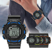 Men Outdoor Sports Digital Water Resistant Swimming Wristwatch Luminous Watch HL