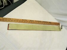 Vintage Leather Razor Sharpening Strap With Latch