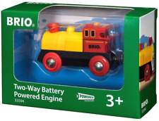BRIO 33594 Two-Way Battery Powered Engine. Brand new. Free Post with tracking