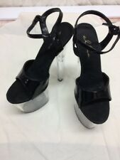 Women's Ellie Shoes With 6 Inch Heel Platform Sandal With Ankle Strap