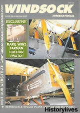 Windsock International V20 N3 DH9A Ninak Plans Farman Junkers J.X CL.I Short