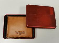 Levis Men's Leather Passcase Wallet- TAN