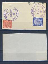 Aussig Briefstück mit BF-Stempel 4. X. 1938 (436053)