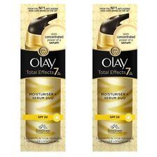 2 Olay Total Effects Hidratante & Serum 2-in-1 Duo SPF20 Nongreasy Fórmula 40ml